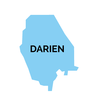 Darien Map Shape