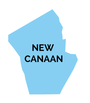 New Canaan Map