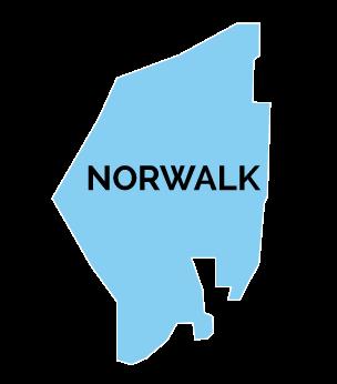 Norwalk Map Shape