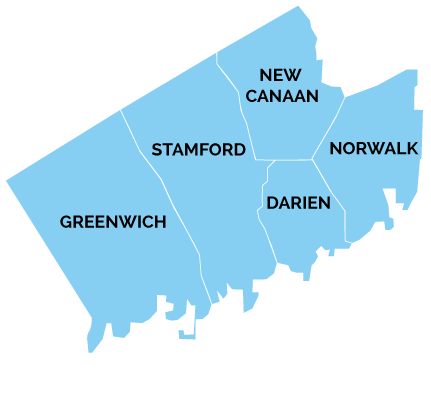 Areas Served by Stamford Home Oil