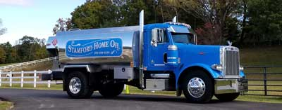 Stamford Home Oil Truck