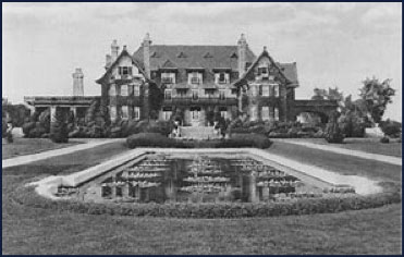 Conyers Manor, built in 1904-05 for Jesse and Edmund Cogswell Converse