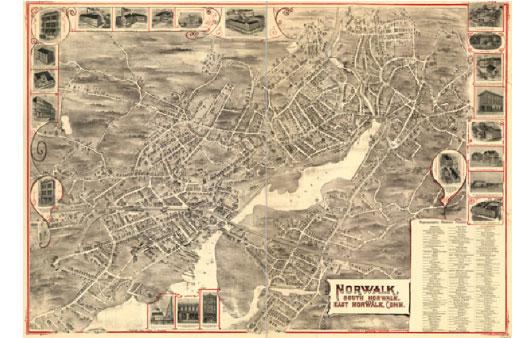 Old Norwalk Map